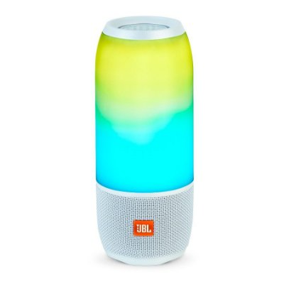 Caixa de Som JBL Pulse 3 Bluetooth e Light Show - Branca
