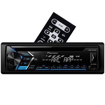 CD Player Pioneer DEH-S1080UB - Mixtrax ARC USB AUX