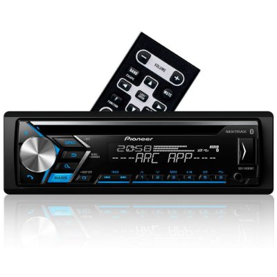 CD Player Pioneer DEH-S4080BT - Bluetooth Spotify Android Mixtrax ARC e USB