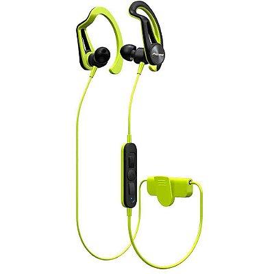 Fone de Ouvido Pioneer SE-E7BT - Bluetooth Sports - Verde