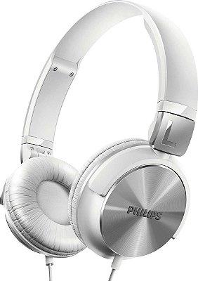 Fone de Ouvido Philips SHL3160WT com alça ajustável - Branco