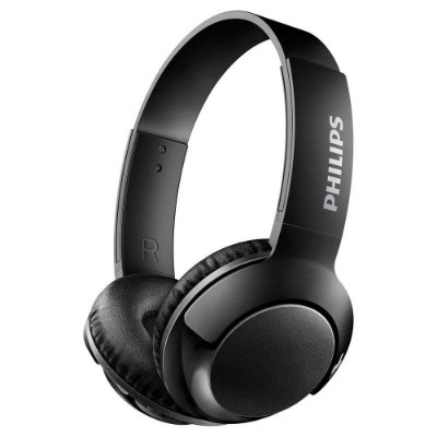 Fone de Ouvido Philips SHB3075 Bass+ e Bluetooth - Preto