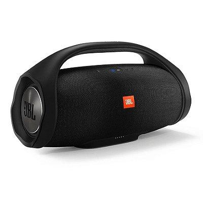 Caixa de Som JBL Boombox Bluetooth Prova d Água - Preta
