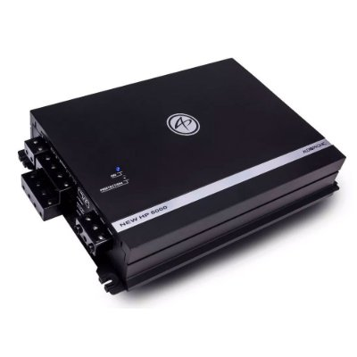 Amplificador Audiophonic NEW HP 5000 (4x 105W  + 1x 530W RMS)