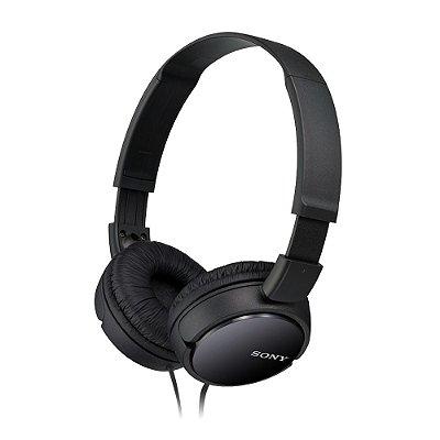 Fone de Ouvido Sony MDR-ZX110 Headphone - Preto