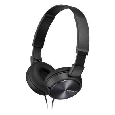 Fone de Ouvido Sony MDR-ZX310AP Headphone com Microfone - Preto