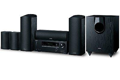 Home Theater Onkyo HT-S5800 - 5.1.2 Canais / Dolby ATMOS / Bluetooth e UltraHD 4K