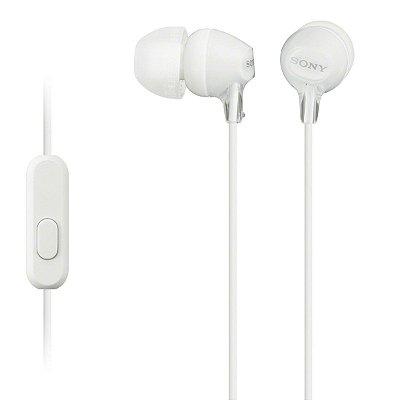 Fone de Ouvido Sony MDR-EX15AP Intra-auricular - Branco
