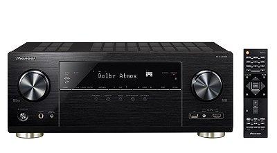 Receiver Pioneer VSX-LX302 - 7.2 Canais / 4K Ultra HD / Bluetooth / Wi-Fi / ATMOS / MCACC / DTS PLAY-Fi