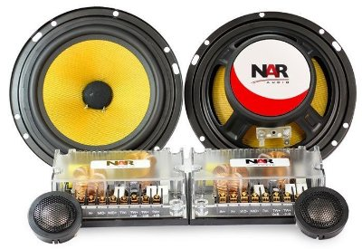 Kit 2 Vias NAR Audio 600-CS-3 (6 pols. / 120W RMS)