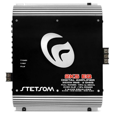 Amplificador Stetsom 2K5 EQ (2 Ohms / 1x 3200W RMS)