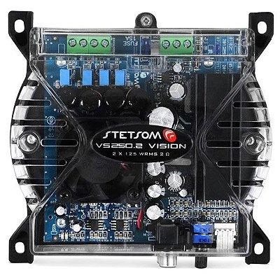 Amplificador Stetsom VS250.2 (2x 125W RMS)