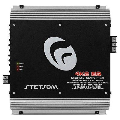 Amplificador Stetsom 4K2 EQ (2 Ohms / 1x 4850W RMS)