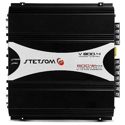 Amplificador Stetsom V800.4 (4x 200W / 2x 380W RMS)