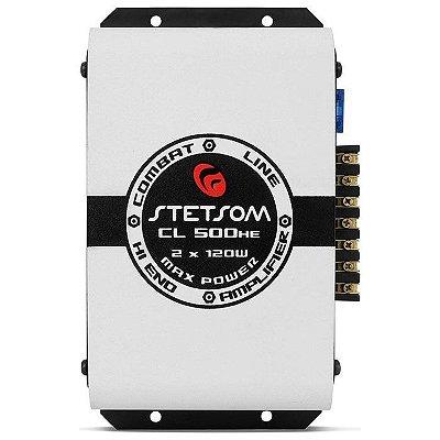 Amplificador Stetsom CL500HE (2x 60W RMS)