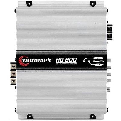 Amplificador Taramps HD-800 (1x 959W RMS) / 2 Ohms