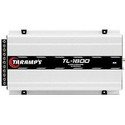 Amplificador Taramps TL-1800 (2x 85W + 1x 360W RMS)