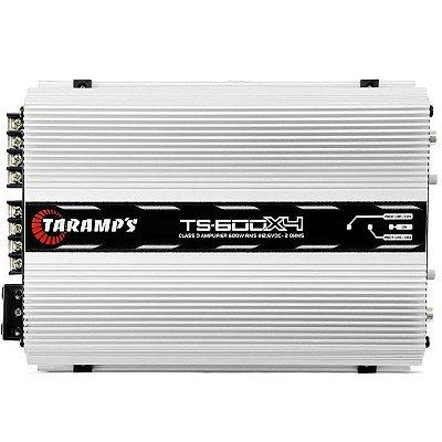 Amplificador Taramps TS-600x4 (4x 150W / 2x 300W RMS)