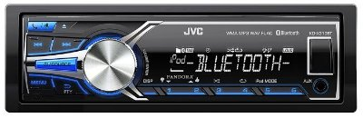 Media Receiver JVC KD-X310 com Vivaz Voz, Bluetooth e USB