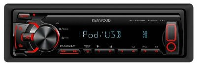 Media Receiver Kenwood KMM-100U c/ entrada Aux. e USB