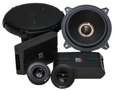 Kit 2 Vias MB Quart RCM213 (5 pols. / 90W RMS)