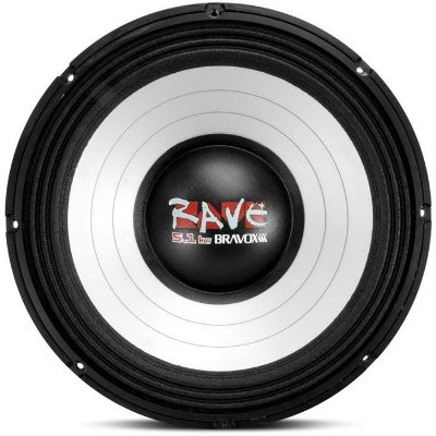 Woofer Bravox Rave RV12-S4 5.1KW (12 pols. / 1800W RMS)