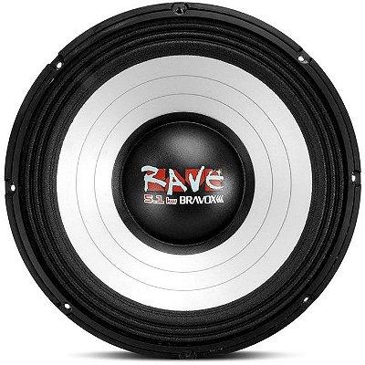 Woofer Bravox Rave 18-4 5.1KW (18 pols. / 2500W RMS)