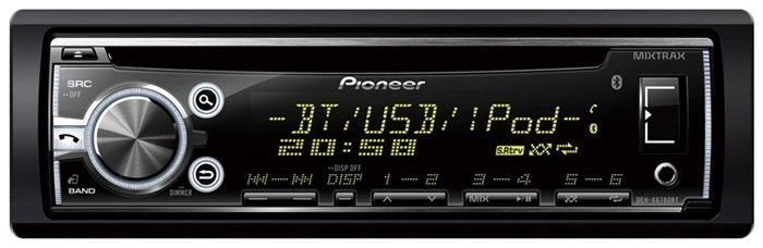 CD/MP3 Player Pioneer DEH-X6780BT c/ ent. USB e Bluetooth