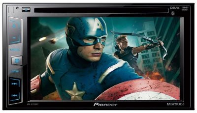 DVD Player Pioneer AVH-X2780BT c/ entrada USB e Bluetooth