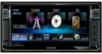 DVD Player Kenwood DDX771WBT c/ MP3/USB/HDMI/Bluetooth