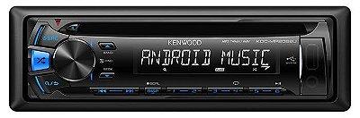 CD/Mp3 Player Kenwood KDC-MP2062U C/ Entrada Aux. E Usb