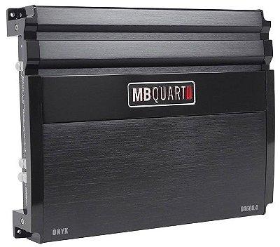 Amplificador MB Quart OA600.4 (4x 150W / 2x 300W RMS)