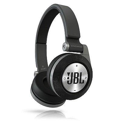 Fone de Ouvido JBL Synchros Bluetooth E40BT  (Preto)