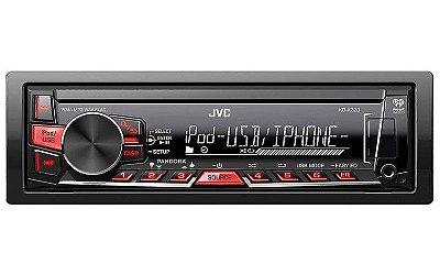 Media Receiver JVC KD-X220 com USB e entrada Aux
