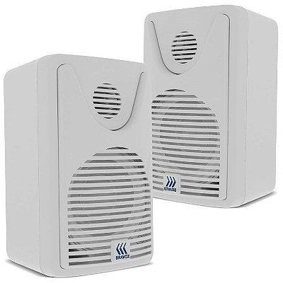 Caixa Acústica BSA Audio / Bravox FOCO 35 (branca)