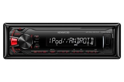 Media Receiver Kenwood KMM-1012 com USB e Auxiliar