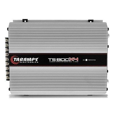 Amplificador Taramps TS-800x4 (4X 240W / 2X 400W RMS) - 2 Ohms