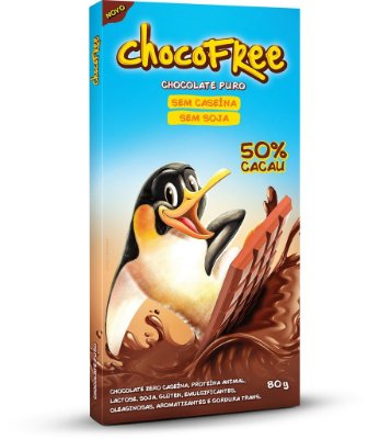 Tablete 80g ChocoFree - Puro