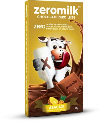 Tablete ZERMILK ABACAXI 80g
