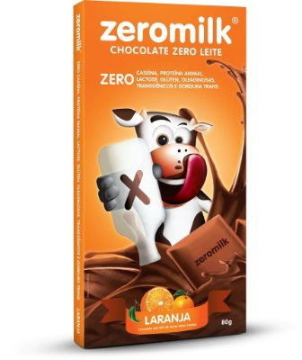 Tablete ZERMILK LARANJA 80g