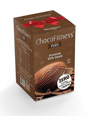 Ovo de Páscoa- ChocoFiness 160g - Puro com 55% cacau - (Sem Açúcar)