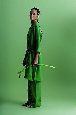 Look 02 Vestido V Francesca Linho Wash V.2022
