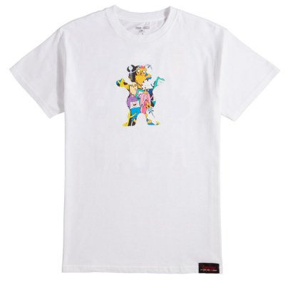 Camiseta Grizzly X Adventure Time Like Your Brain b9117b4d11eb4