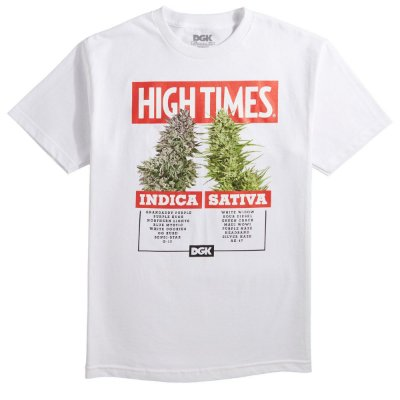 Camiseta DGK X Hightimes Options - Branca