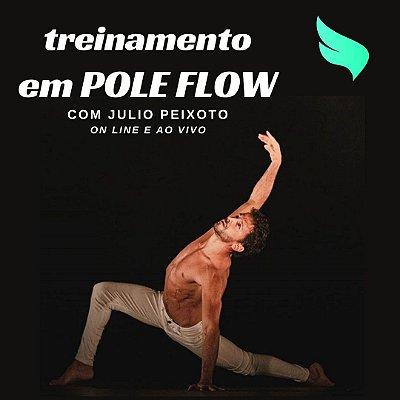Treinamento em Pole Flow com Júlio Peixoto - 20h40m (12/08 a 04/11)