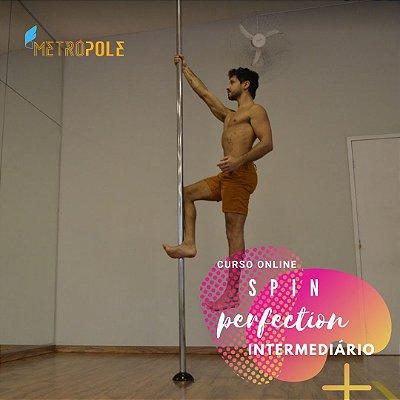 CURSO ONLINE GIROS PERFEITOS - NÍVEL INTERMEDIÁRIO (13/12 - 14:00 ÀS 16:30)