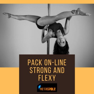 PACK STRONG AND FLEXY- AULAS GRAVADAS