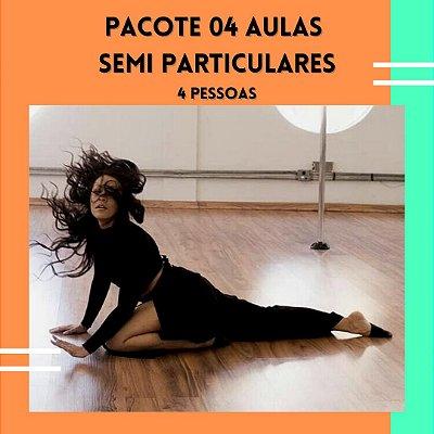 PACOTE 04 AULAS SEMI PARTICULARES - 04 PESSOAS