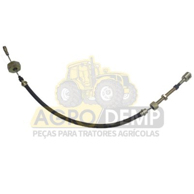 CABO FREIO DE MÃO (740MM) NEW HOLLAND TL65 / TL70 / TL80 / TL90 (IVECO) | NEW HOLLAND TL75 / TL85 / TL95 (MWM) - 5174125