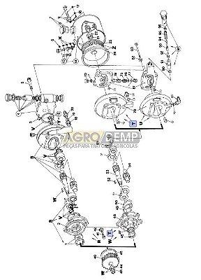 BOMBA DIRECAO HIDROSTATICA 6610 E6NN3K514AB